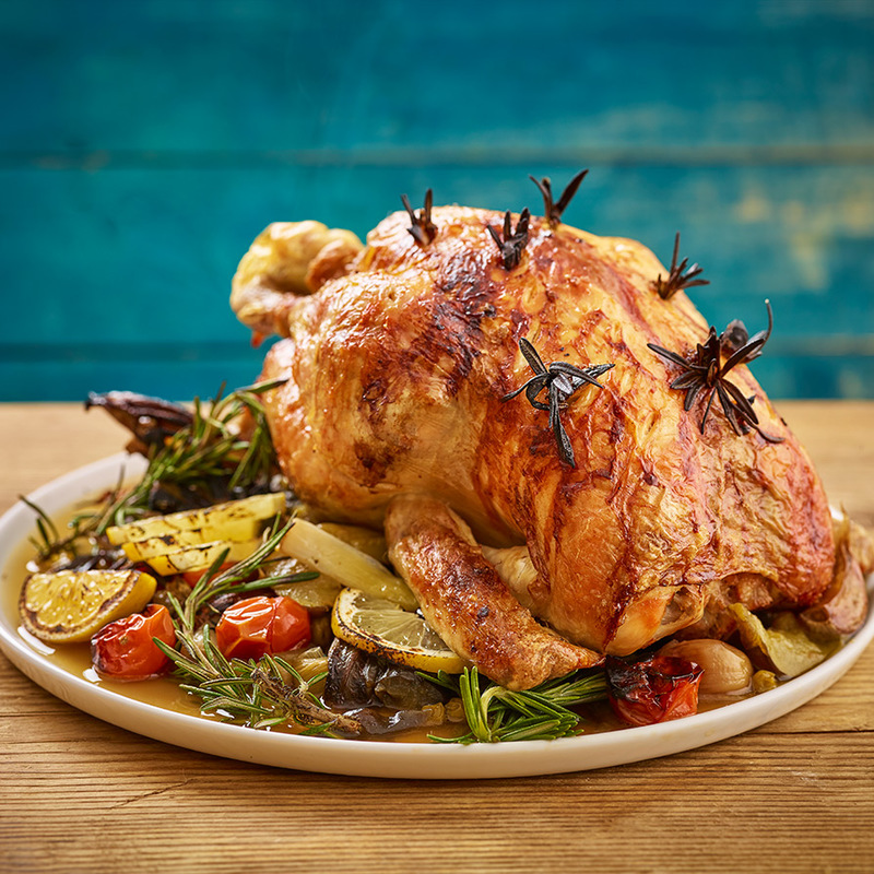 Article card roast chicken
