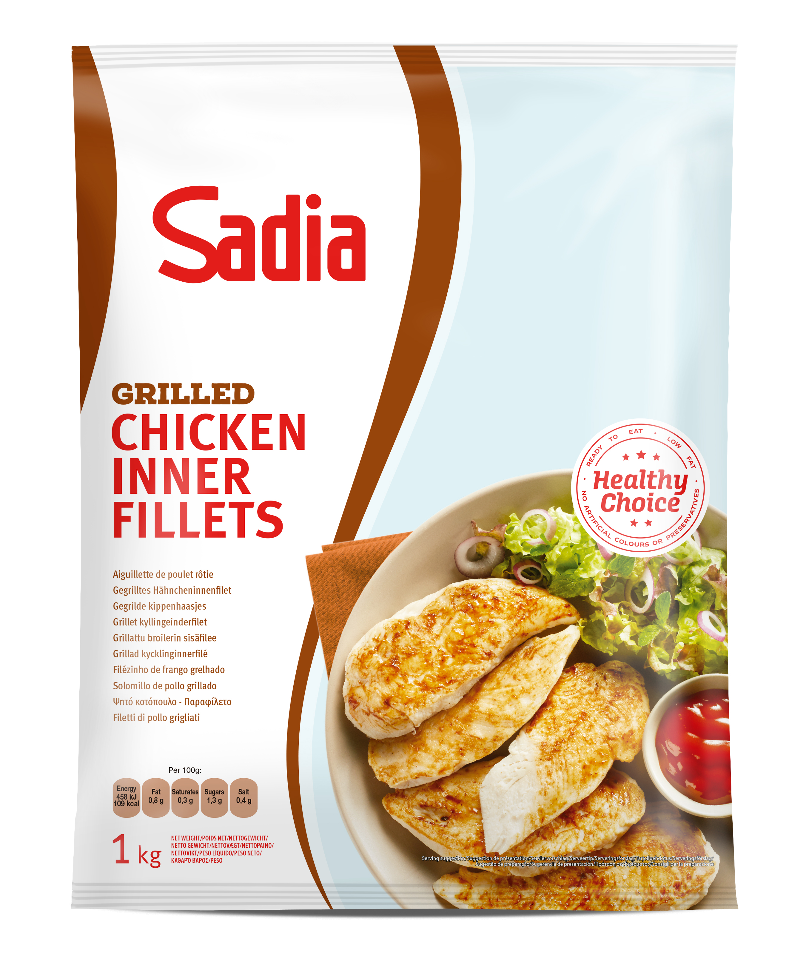 455057 grilled chicken inner fillets  1kg  ps
